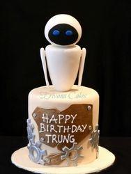 Eva in Wall-E cake