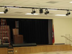 Mayflower H. S. Stage/Cafetorium