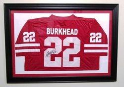 Autographed Rex Burkhead jersey