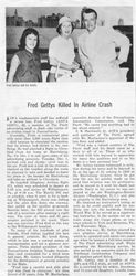 Fred S. Gettys AOPA Magazine Article (Courtesy of Fred's daughter Jean West)