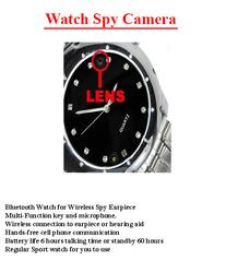 Watch With Spy Camera