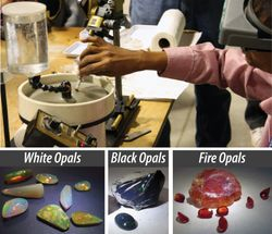 Faceting Opals Demonstration