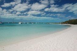 Stocking Island - Sand Dollar beach