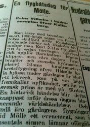 Prins Wilhelm 19 juni 1916