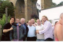 Jon Ritchie, John Hall, Dan Bateman, Danny Beckwith, Johnny Moss, Ted Fretwell.