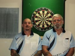 A Grade Mens Doubles Winners - Tony Chapman & Jim Davies