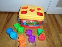 Fisher Price Brilliant Basics Baby's First Blocks - $6