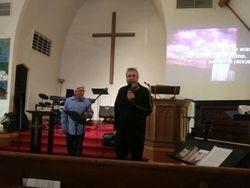 Pastor Wayne Buller and Pastor Greg Miller