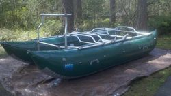 16 FT Super Custom Bad Cat with Aire tubes