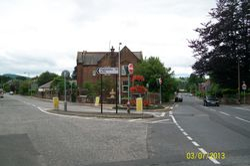 Junction of Castle Douglas Road & Dalbeattie Road