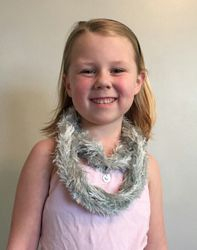"""""""Elsa"""" Infinity Scarf with accent charm"""