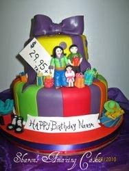 CAKE 19A1 -Let's Shop Cake
