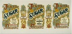 Sugar tin label (Nostalgia Series)