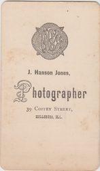 J. Hanson Jones, photographer of Hillsboro, IL