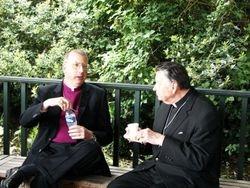 Abp. Haverland & Fr. Stanley Sinclair