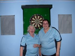 Ladies Doubles Runners Up