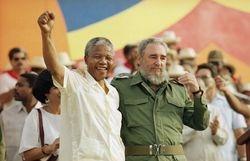 Mandela and Castro