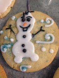 Olaf Frozen Cookie
