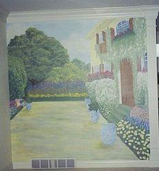 impressionist mural