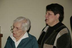 Great GMA Trupiano and Great Aunt Gloria