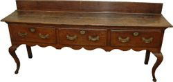 English Oak Sideboard- #12,500 - $13,500