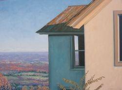 "Window, oil/canvas, 20 x 24"""
