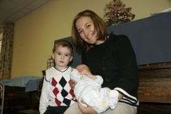 Aunt Mary, Evan and Mary Lauren