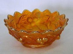 Acorn Burrs small berry bowl, marigold
