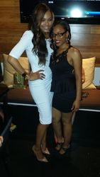 "Demetria McKinney and Iesha Marie attends  KONTROL ""Fabulous At Every Age"" Issue Release Party - Bar One"