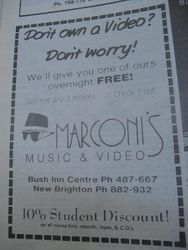 Marconi's Music and Video