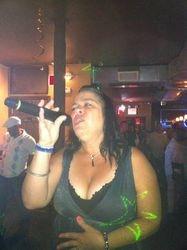 Iris heating up the crowd at Carmen & Patty's Birthday Celebration (502 Bar Lounge's Social Saturday Karaoke Night)!