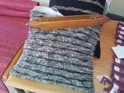 Wool / Angora mix cushion