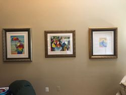 Picture hanging installation in edgewater MD