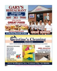 GARY'S RESTAURANT - CHRISTINE'S CLEANING SERVICES