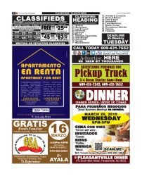 CLASSIFIEDS / CLASIFICADOS