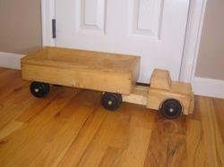 Playskool Vintage Wooden Truck- $50