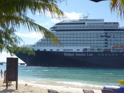 Holland America - our ship