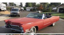 3.68 Convertible Cadillac
