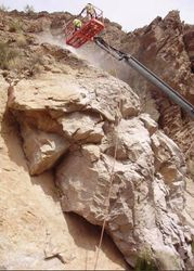 ADOT SR88 Boulder Reduction