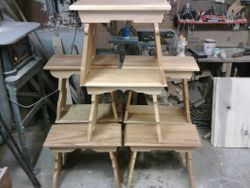 Cypress benches for past Champions