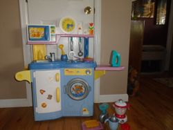 Fisher Price Cook N Clean Kitchen - $40