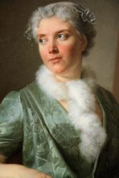 French, Portrait of an Artist, c. 1735, Chicago