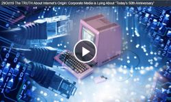 """The TRUTH About Internet?s Origin: Corporate Media is Lying About """"Today?s 50th Anniversary"""""""