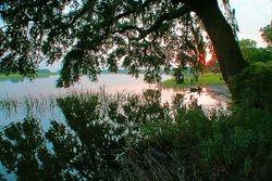 Wallace Creek sunset