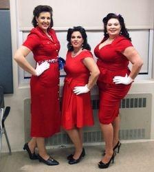 Christine Betty, Lana Betty, & Aundria Betty!
