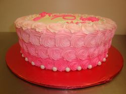 30 servings $70 ombre rosettes