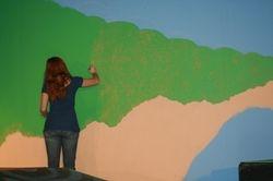 Preparing the background