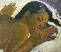 Gauguin, Manao Tupapao, 1892, Buffalo