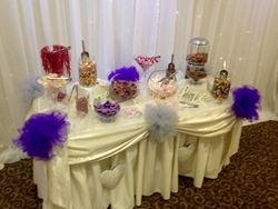 Candy Buffet Catering for 80 guests