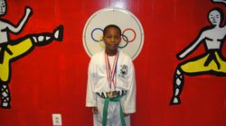 Andrew Valcin won 1st place fighting 2nd place in breaking